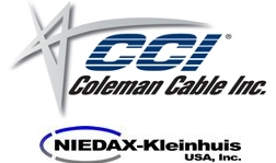 Niedax (Cable Tray, Wireways) Coleman Cable (Ext Cords, Stringerlights)
